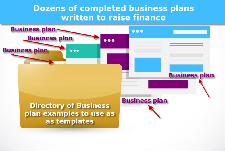 Business plan examples are the quick way to make a business plan bpe instantly get dozens of completed business plans written to raise finance that you can legally steal to write your own effective business plan fbccfo Images