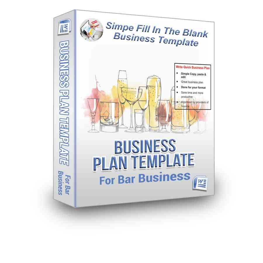 Bar business plan bpe its not every day youll find this simple business plan template for a bar business cheaphphosting Choice Image