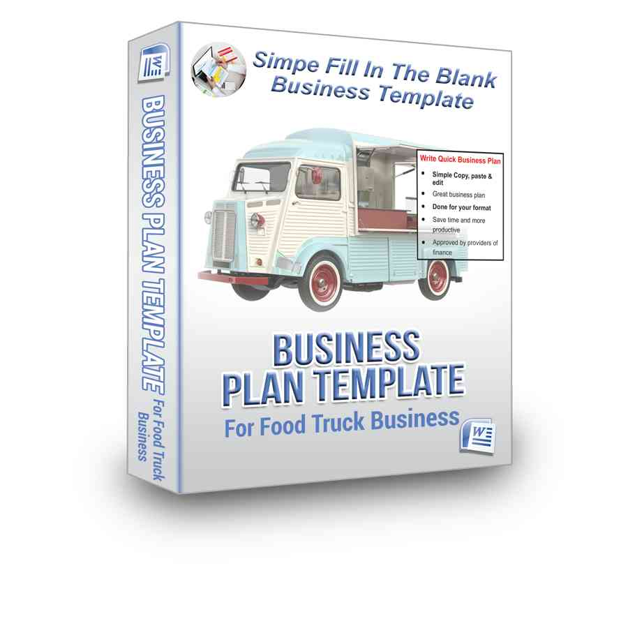 food truck business plan bpe