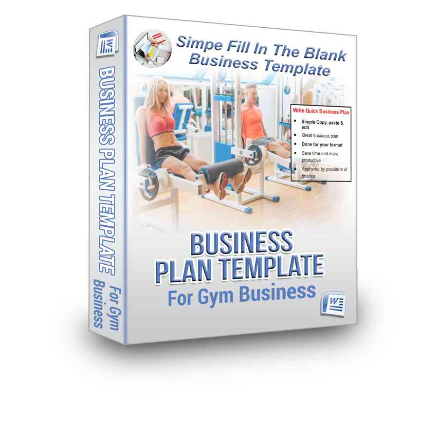 Gym Business Plan Bpe